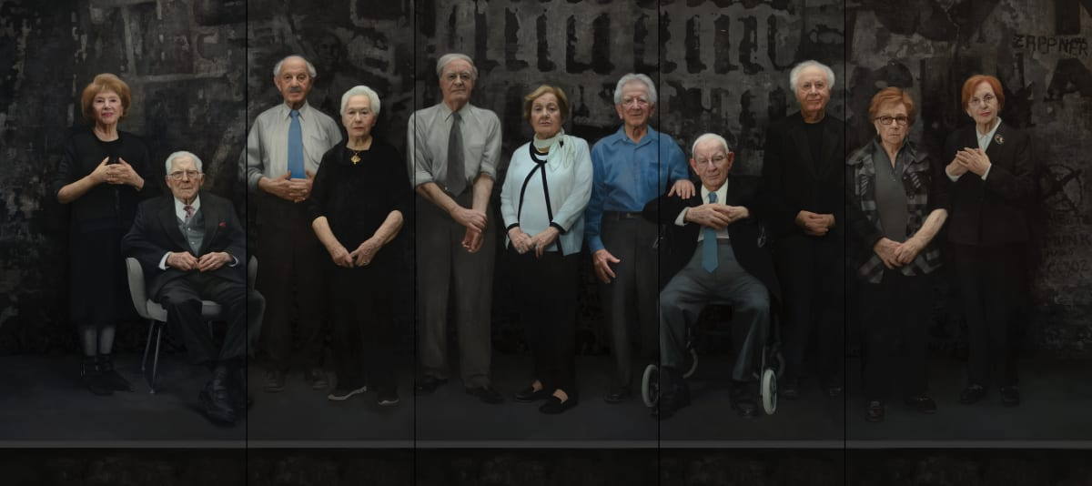 Bearing Witness 11 Survivors of Auschwitz by David Kassan