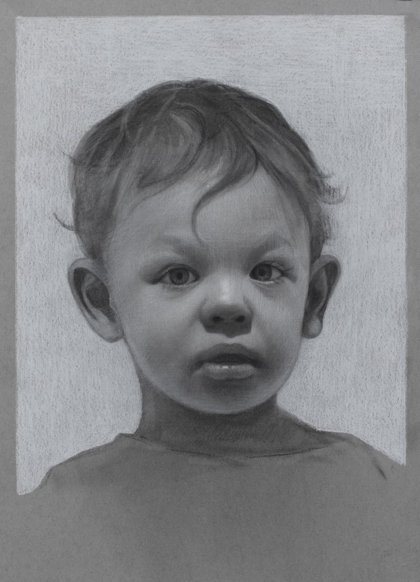 Lucas as a toddler by David Kassan