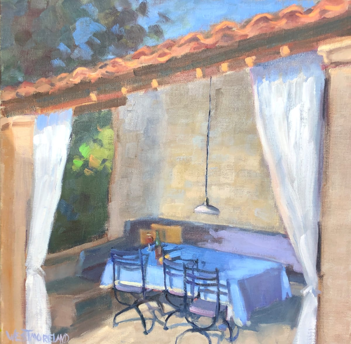 Apperitif in Provence by Susan Westmoreland