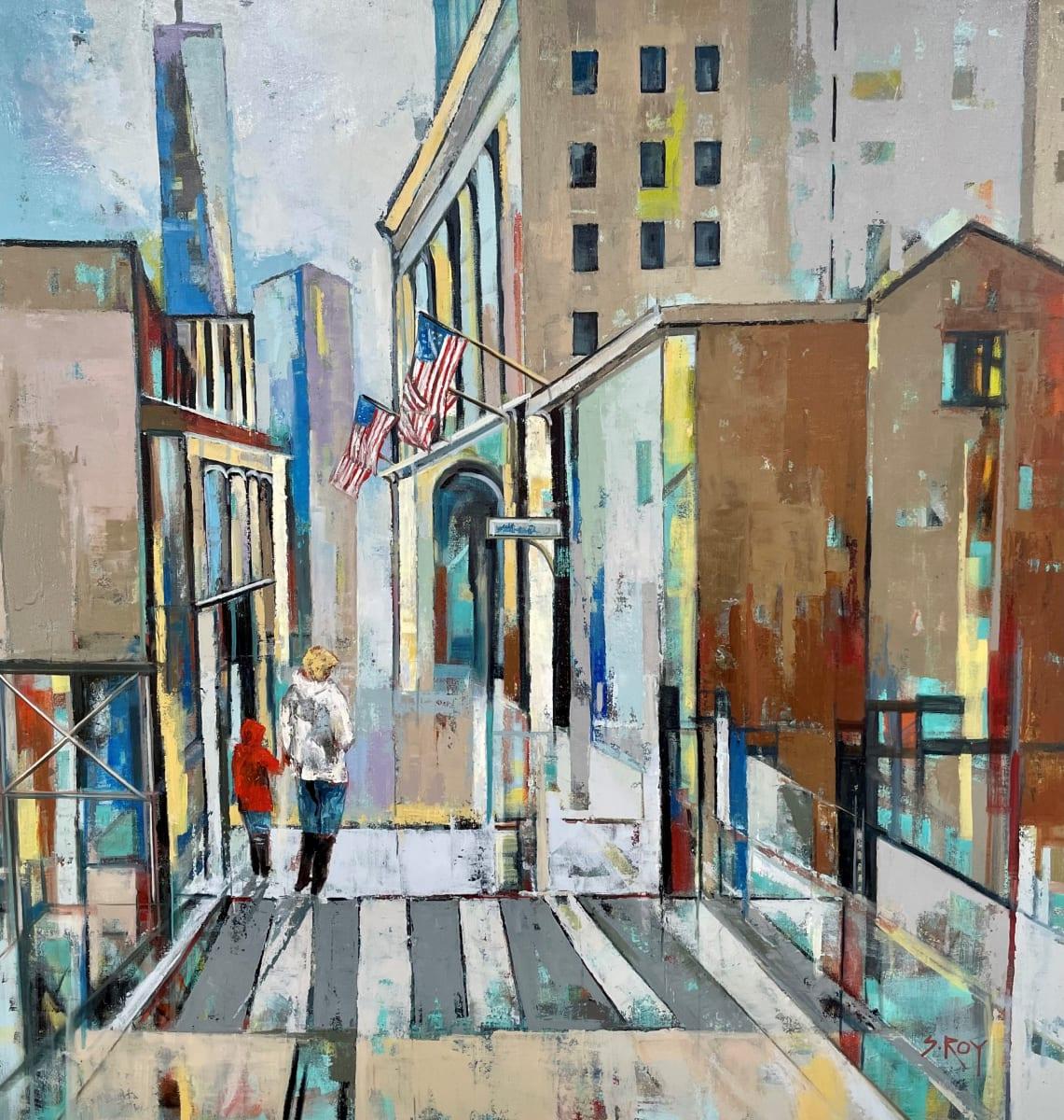 A walk in the city by Sharmila Roy