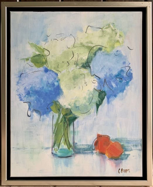Hydrangeas by Cathy Groome