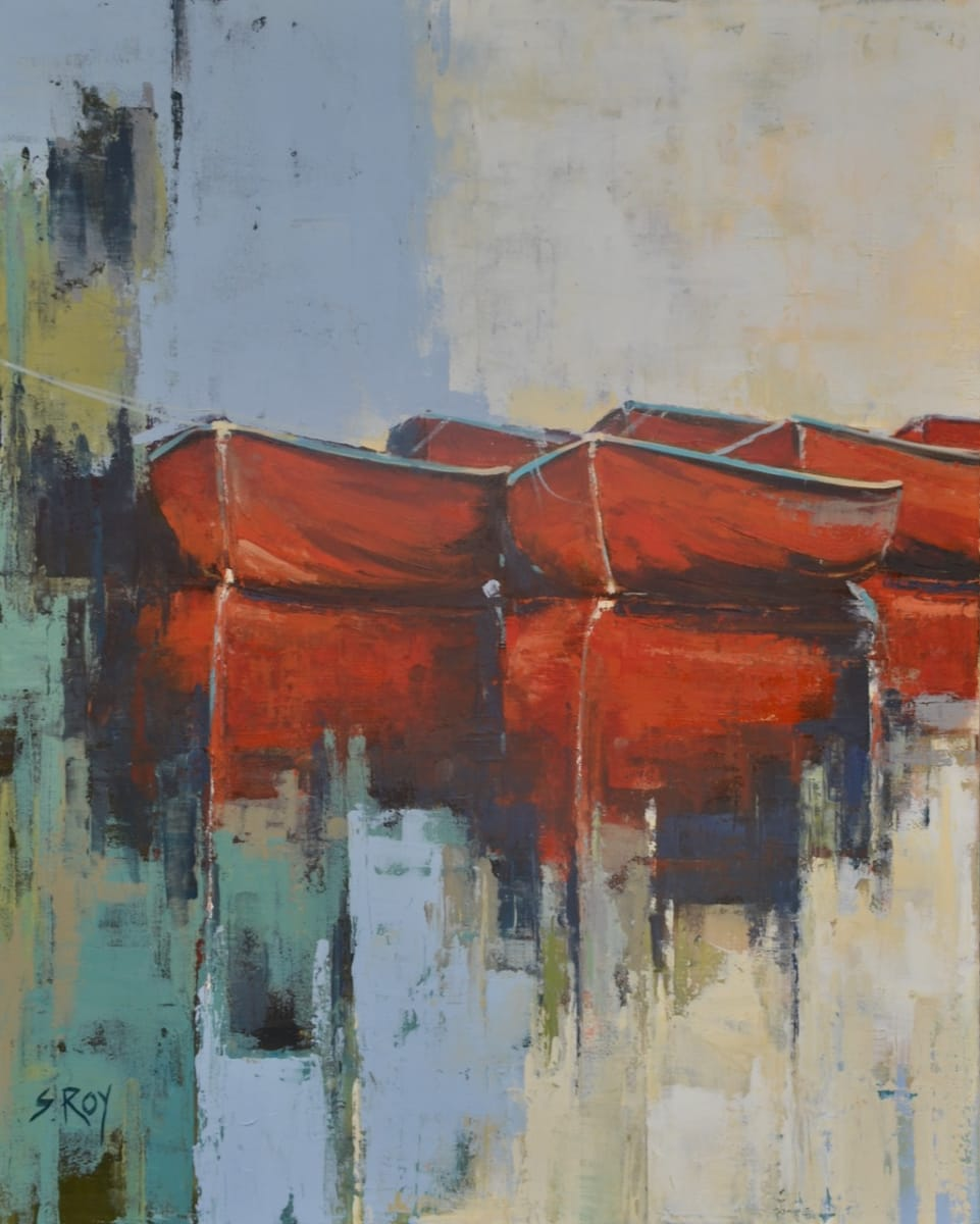 Red Boats by Sharmila Roy