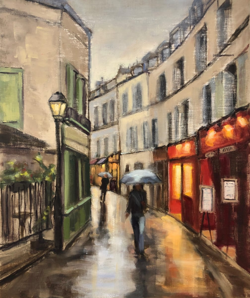 Paris, rue Mouffetard by Susan Westmoreland