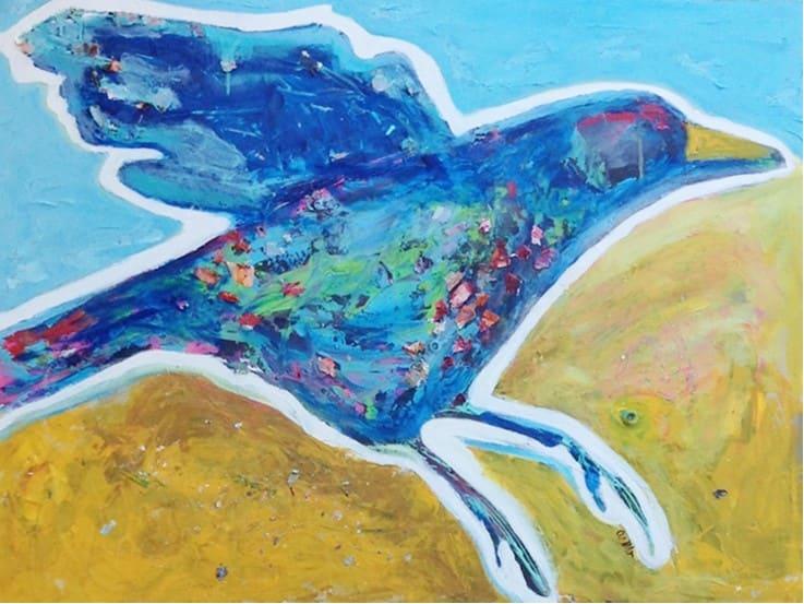 The Landing II by Corinne Galla