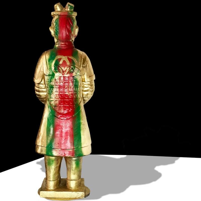 THE REALFAKE SERIES: THE GUCCI WARRIOR by judith angerman  Image: Gucci Warrior: facing rear