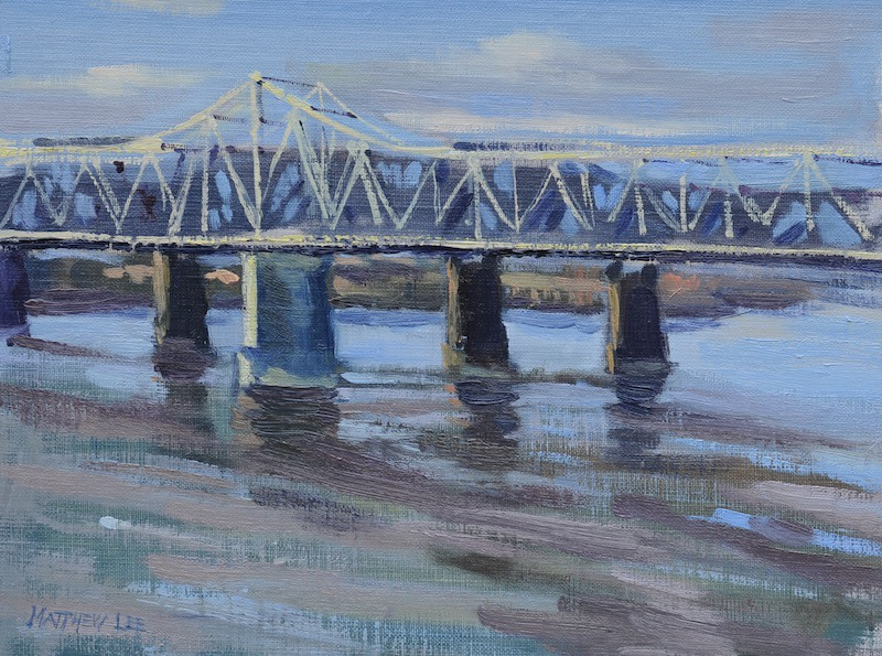 Sunlight on The Old Bridge- Memphis