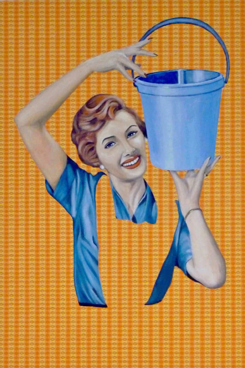 Camilla with Bucket by Kristina Kanders