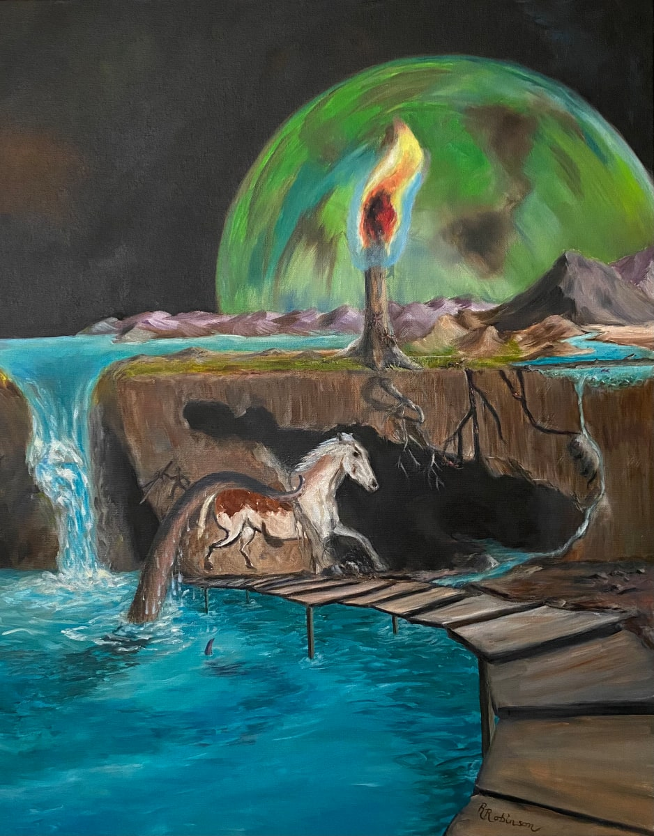 The Existential Farm of the Eternal Flame by Randy Robinson