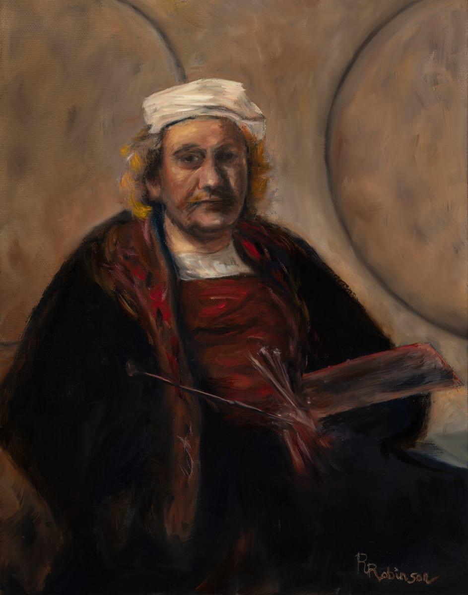 Self-portrait, Rembrandt by Randy Robinson