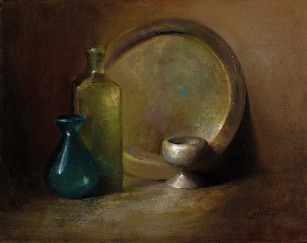 From Grandma's Basement, Metal and Glass by Leah Lopez