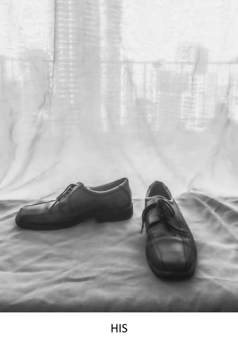 His shoes by Sharon Heitzenroder