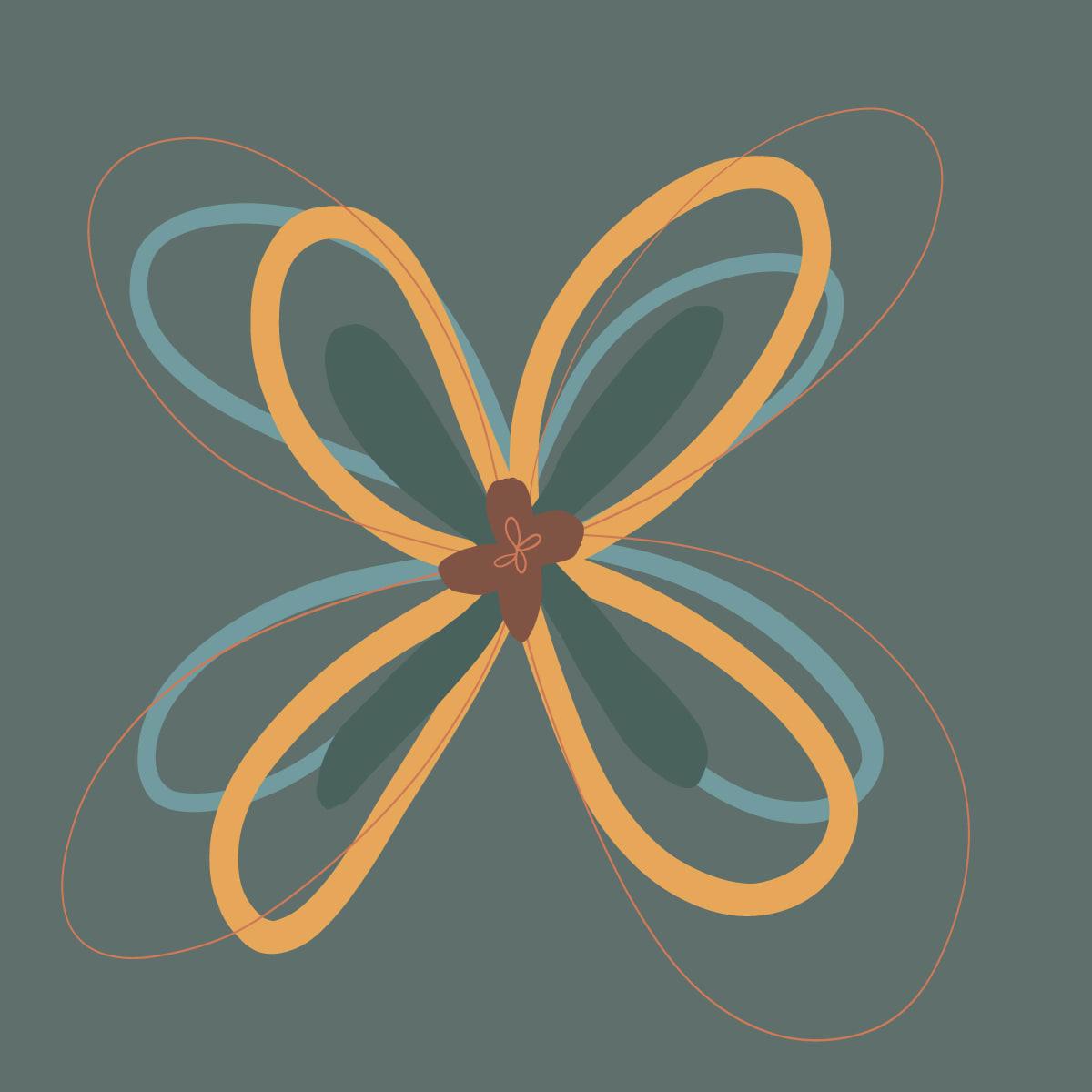 Spiro-Flower 03 by Jennifer Crouch