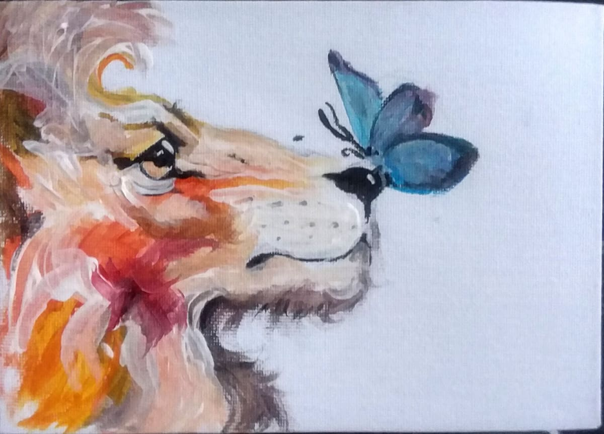 Krista Lion by Maria Kelebeev