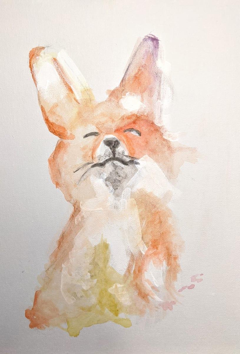 Fox by Maria Kelebeev