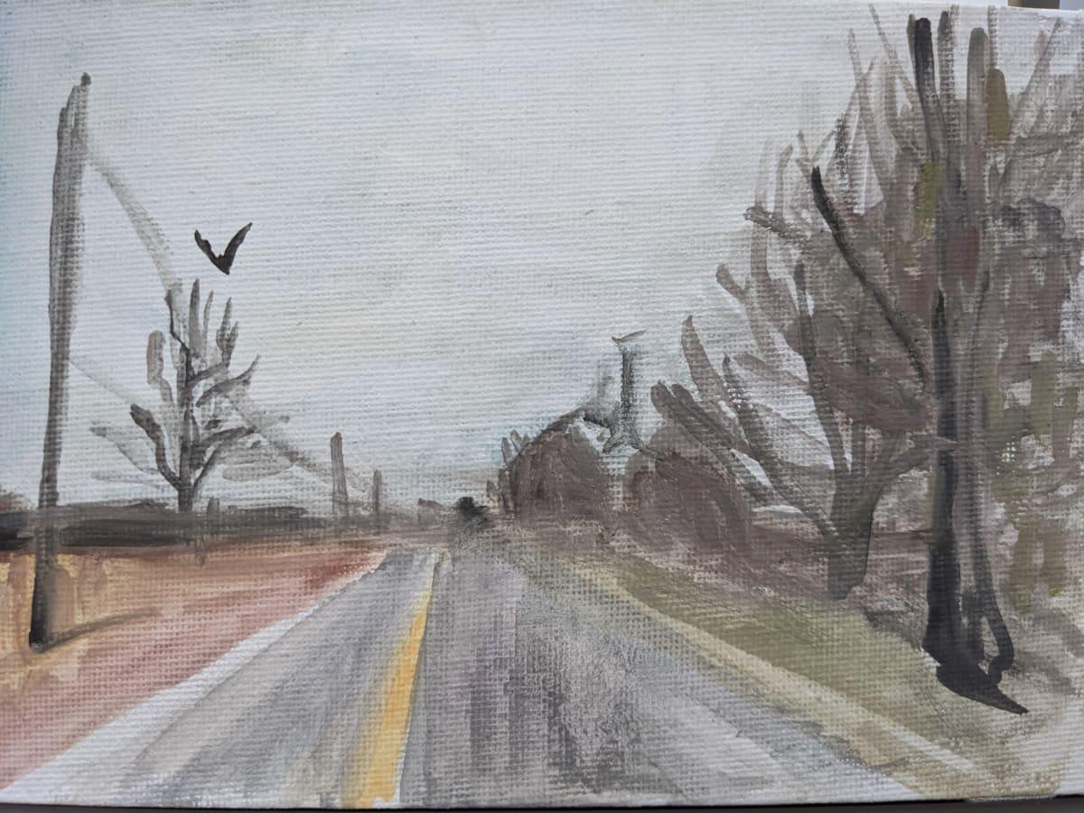 Innisfil  Road Driving by Maria Kelebeev