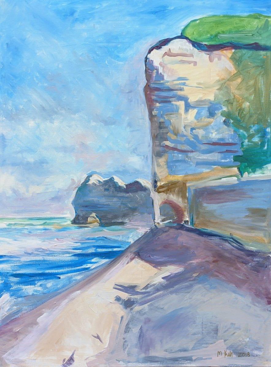 Cliffside by Maria Kelebeev