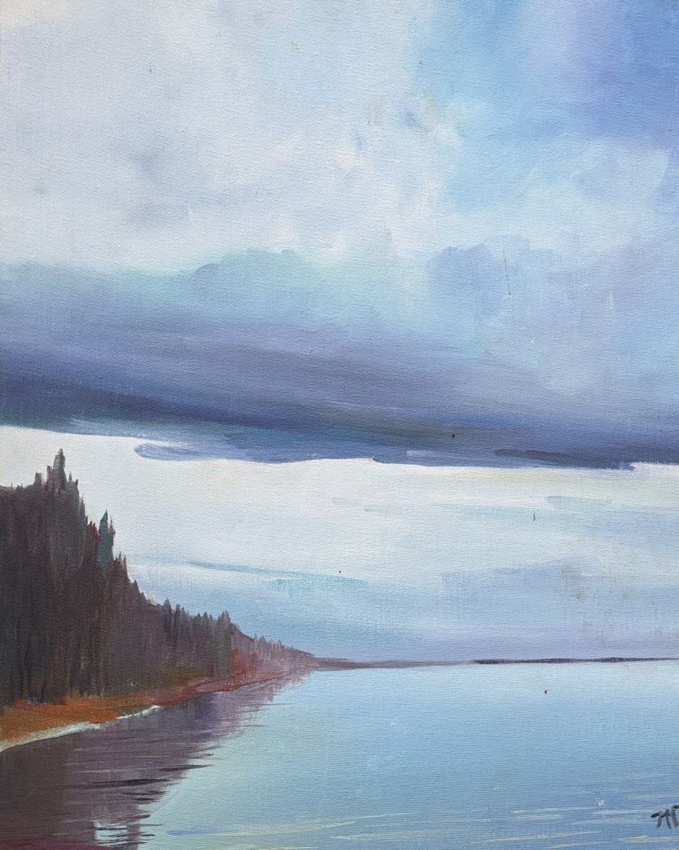 Serene waters by Maria Kelebeev