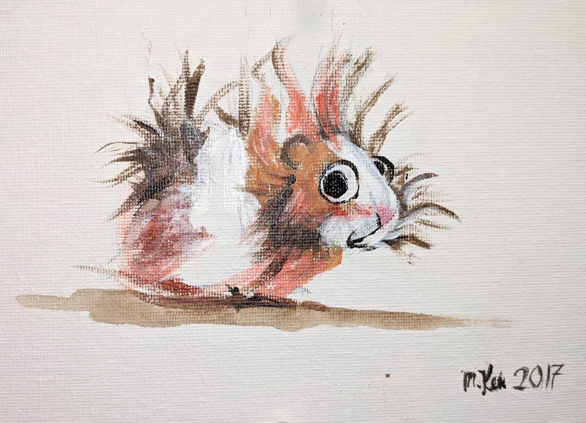 Hamster by Maria Kelebeev