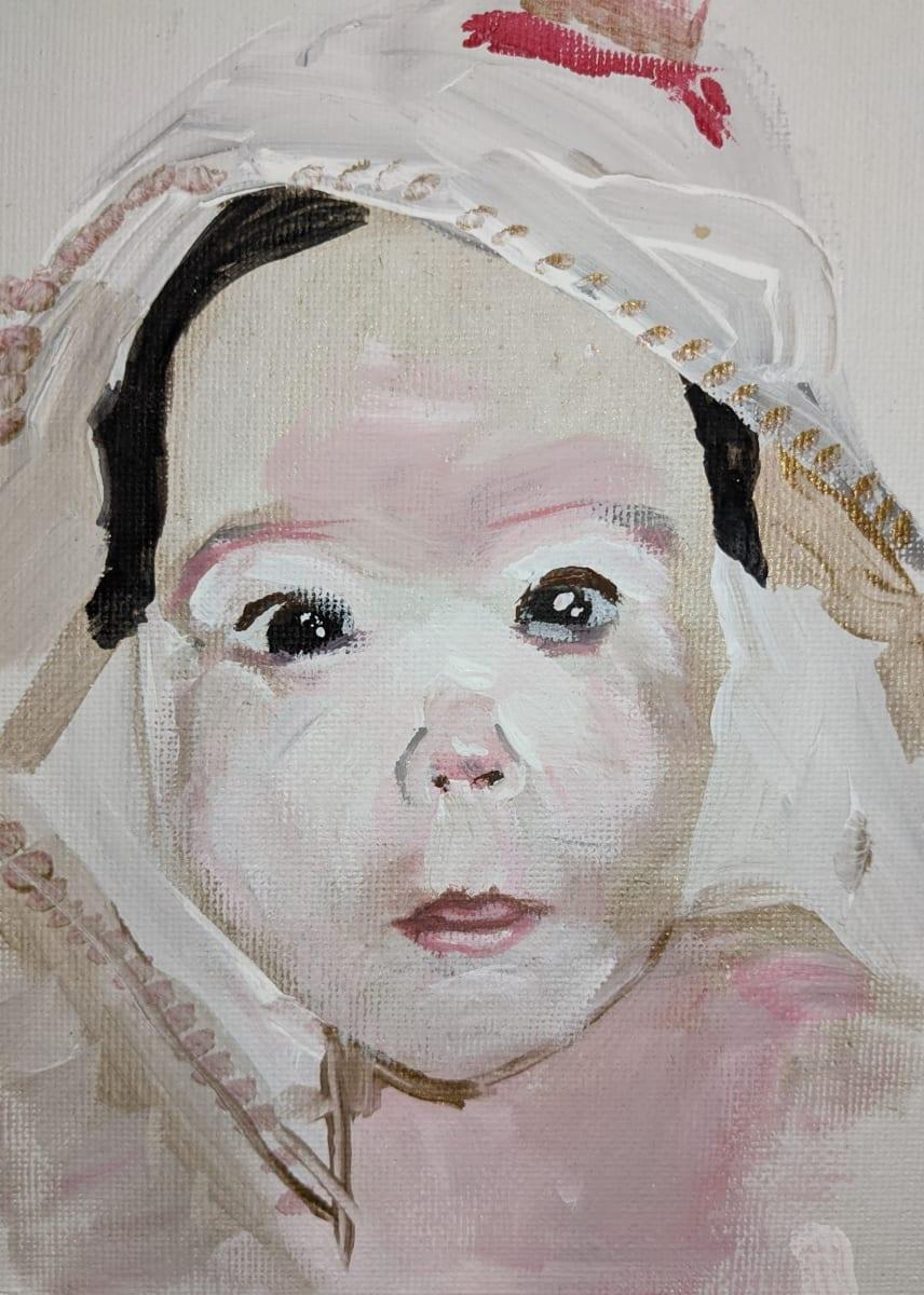 After Bath by Maria Kelebeev
