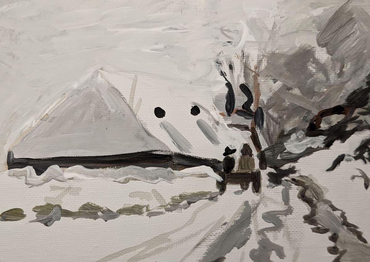 Winters day by Maria Kelebeev