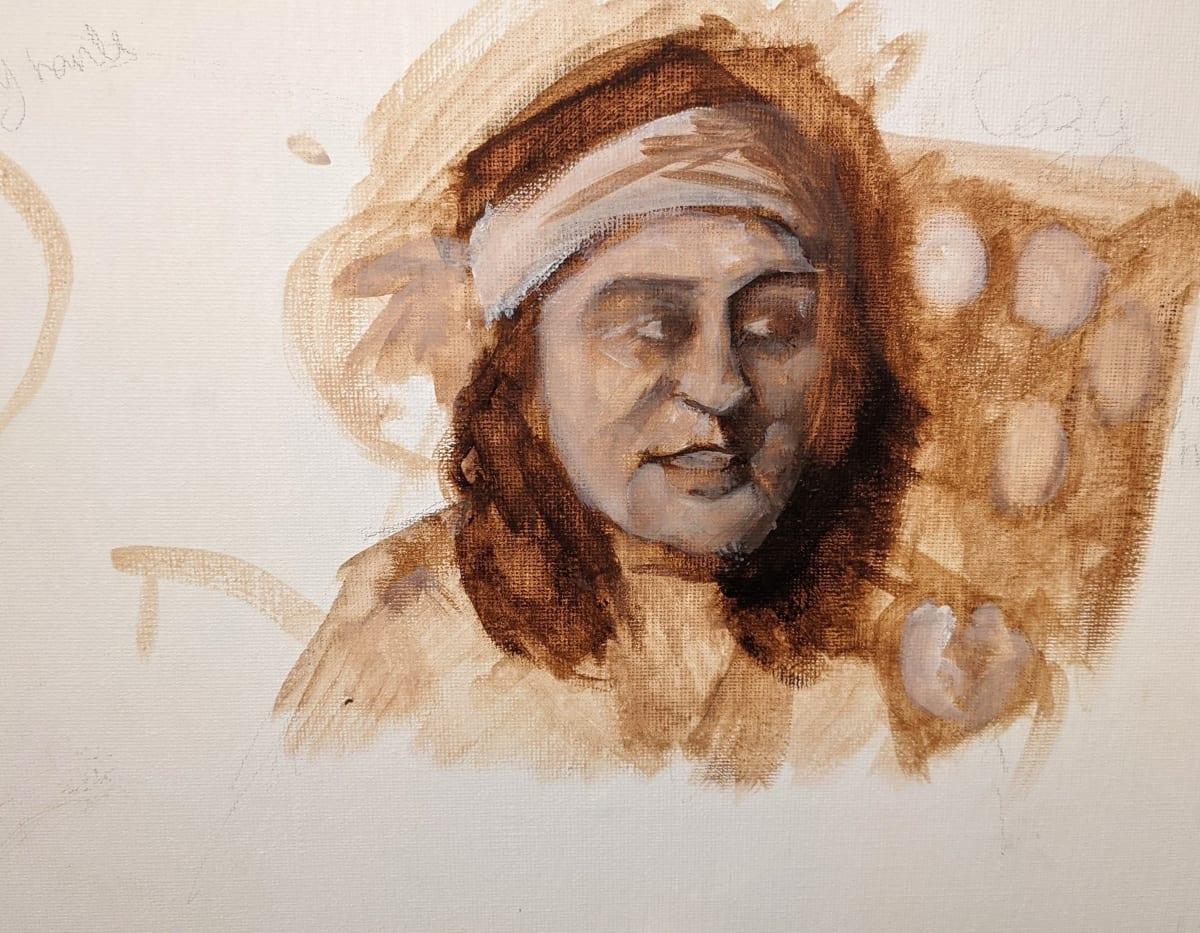 Noel Fielding by Maria Kelebeev