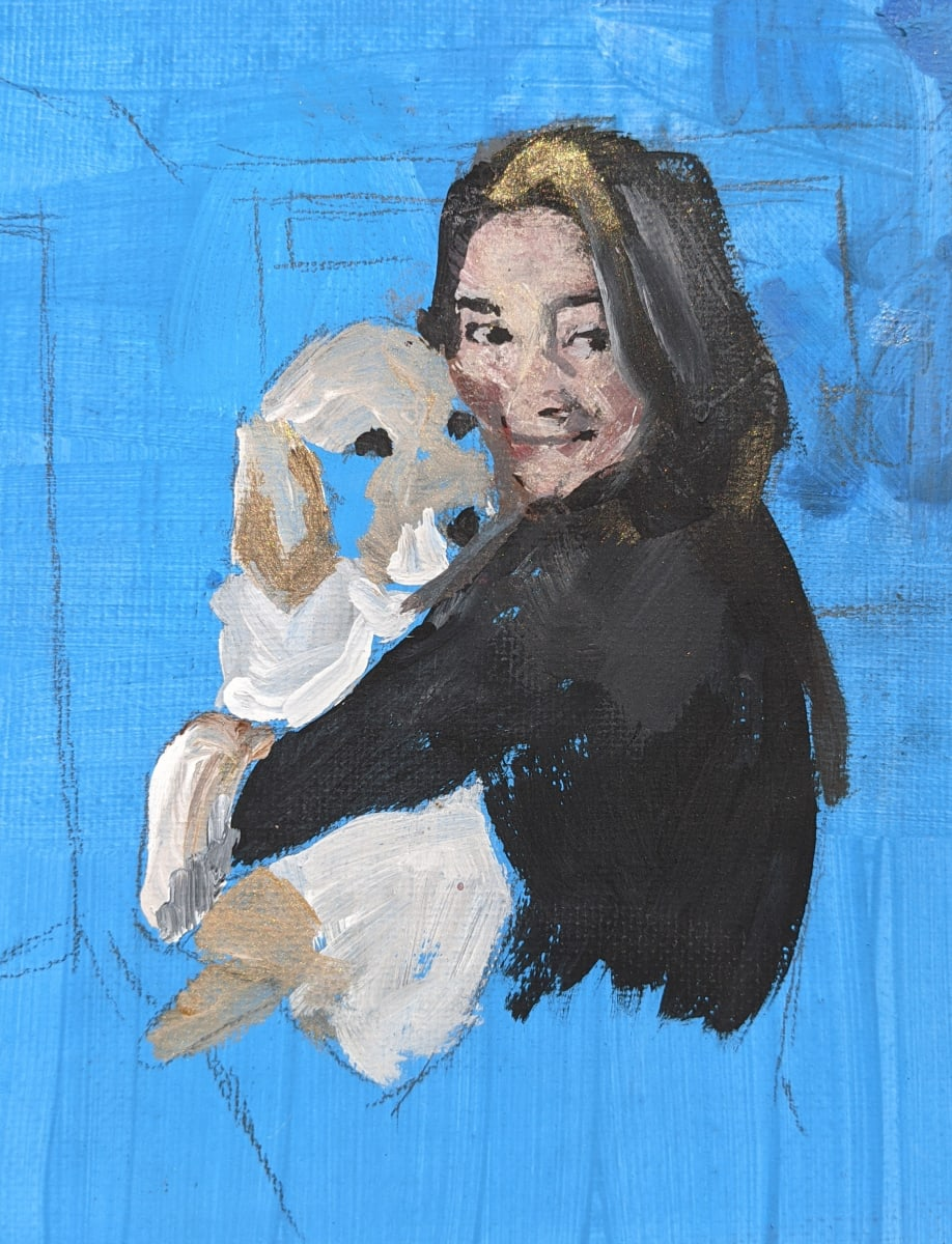 New Puppy by Maria Kelebeev