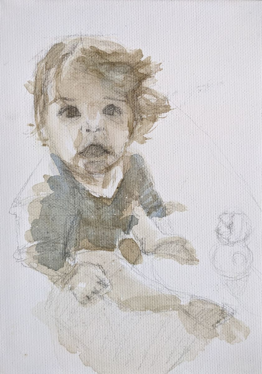 Baby Ira by Maria Kelebeev