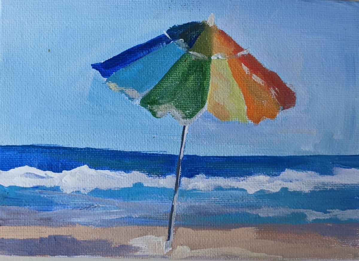acceptance beach by Maria Kelebeev