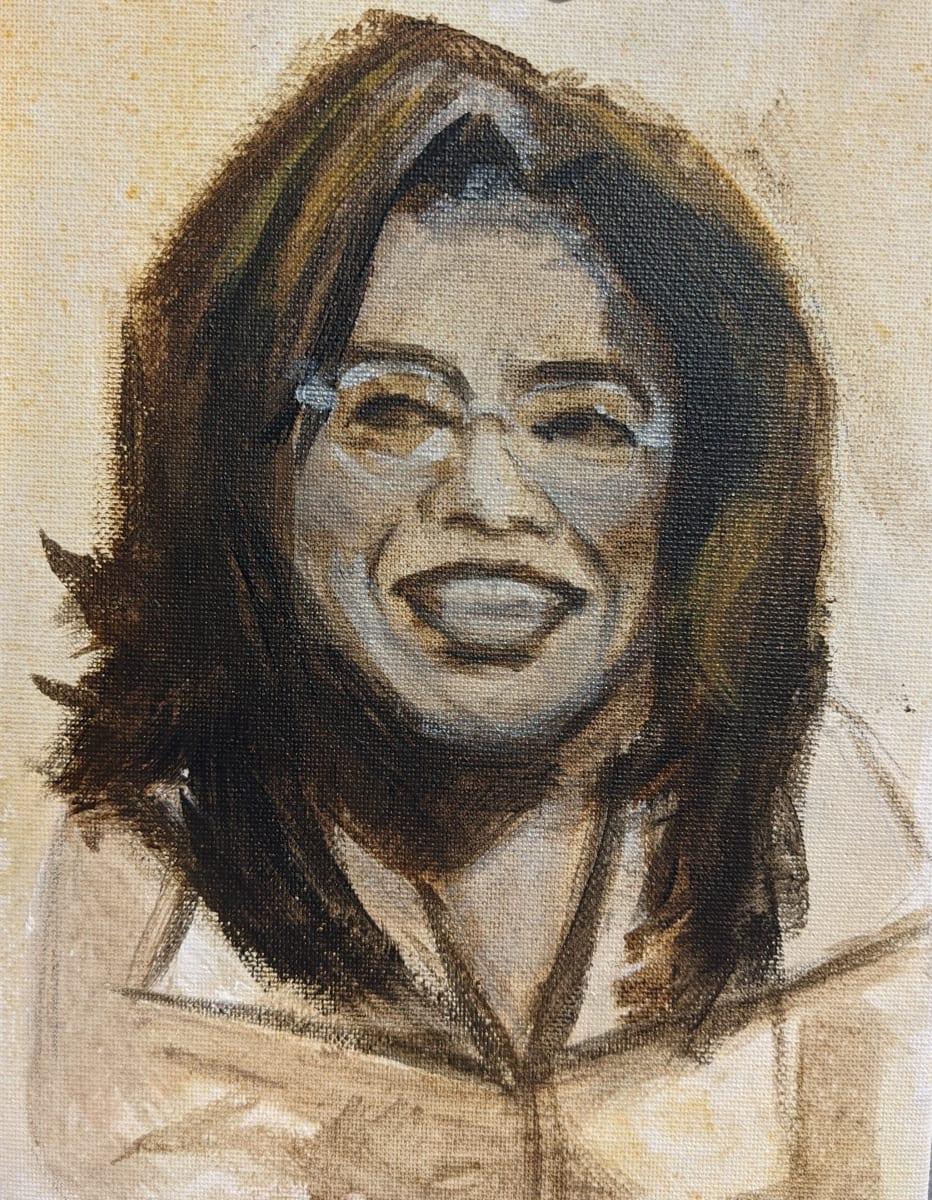 Oprah Gail Winfrey by Maria Kelebeev