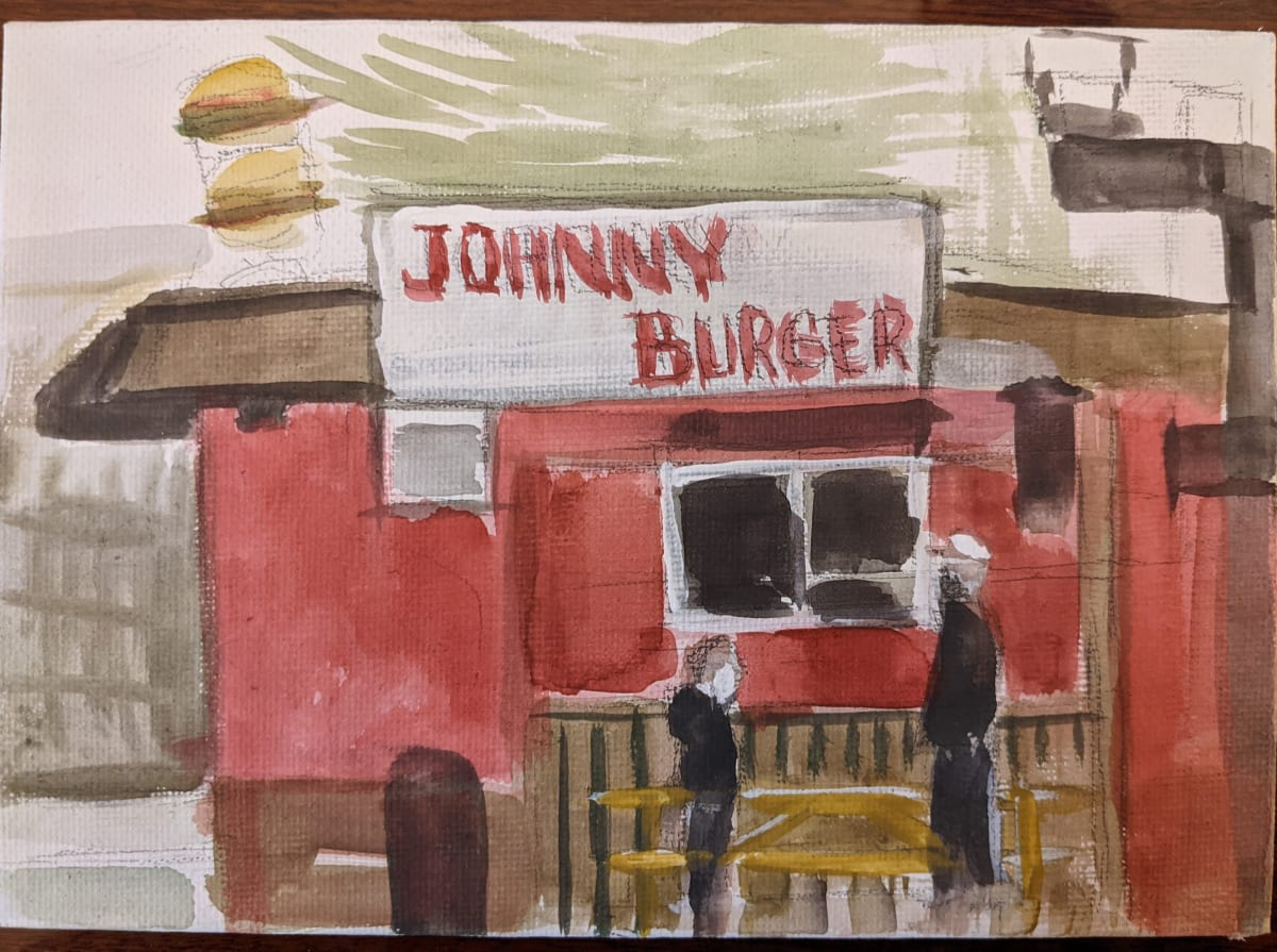 Johnny Burger by Maria Kelebeev