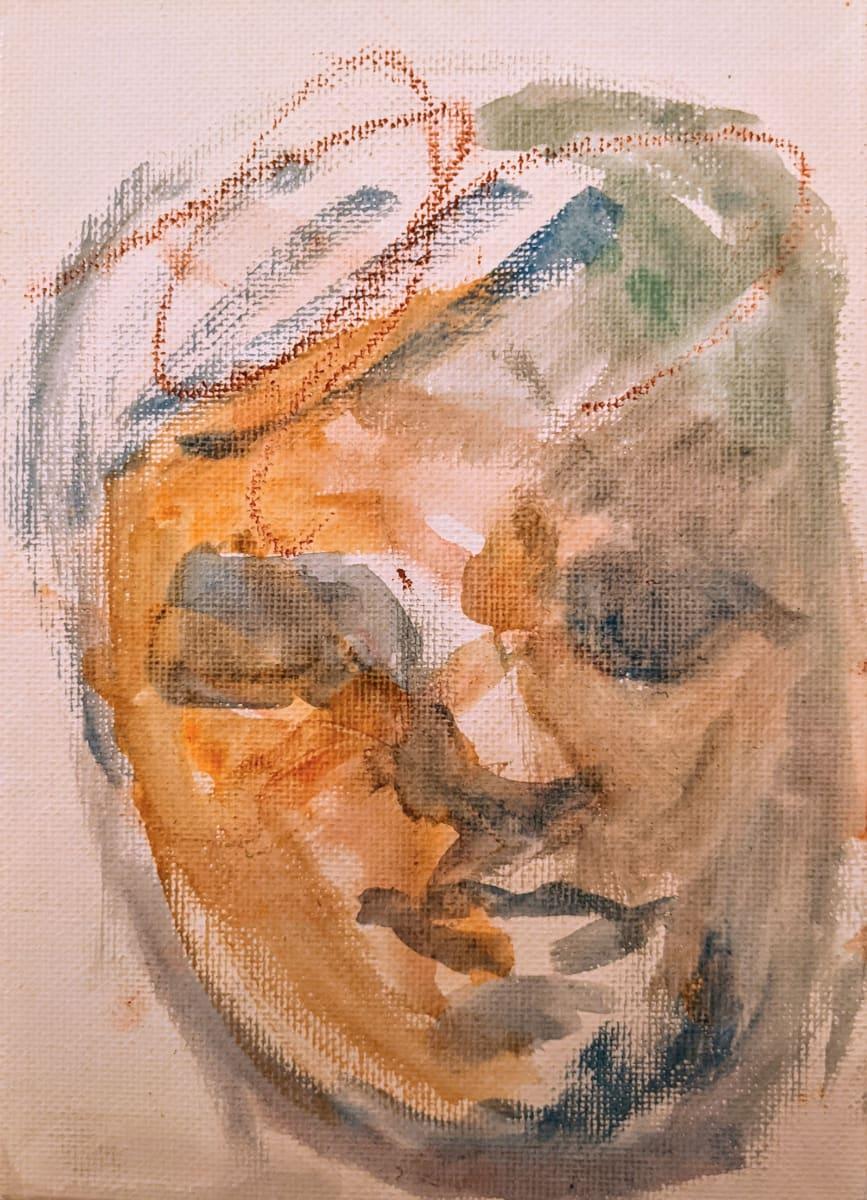 Meditative by Maria Kelebeev