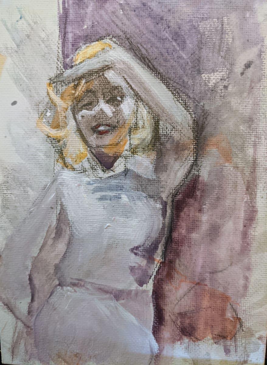 Marilyn Monroe by Maria Kelebeev