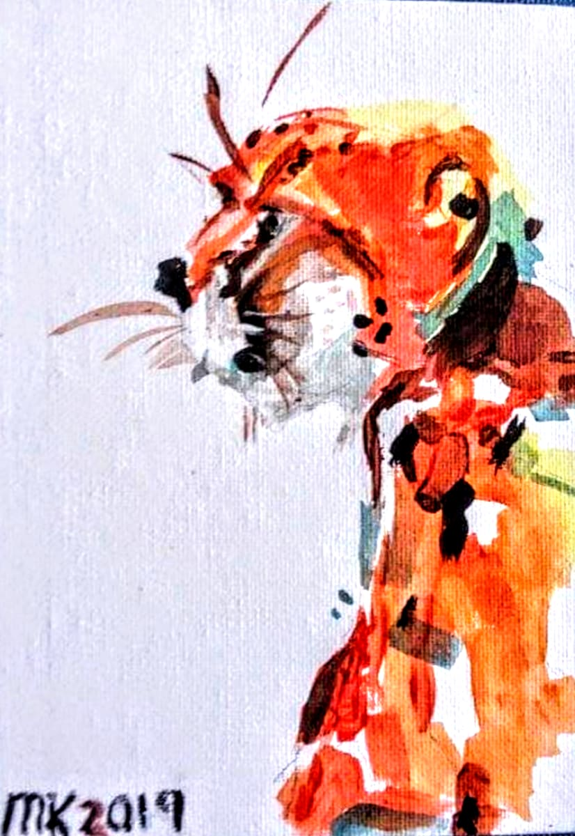 Cheetah by Maria Kelebeev