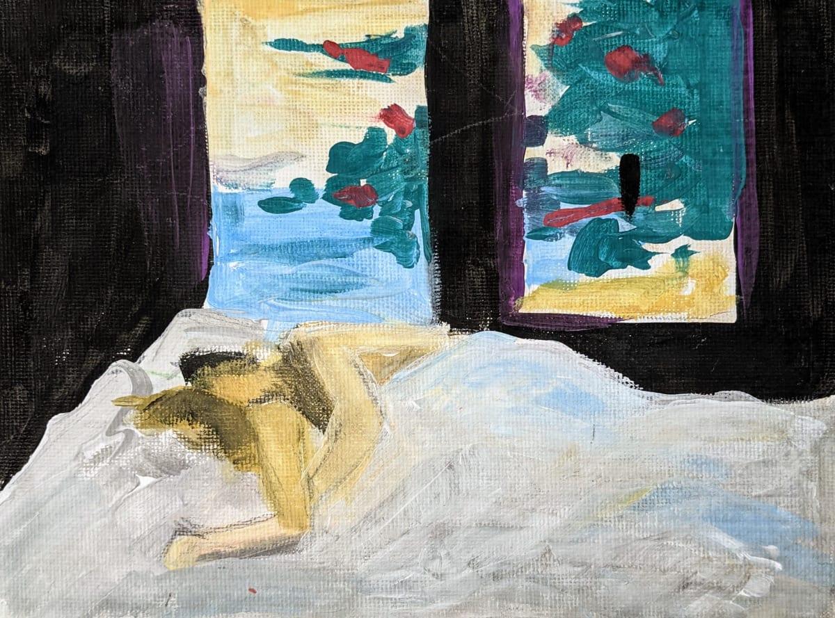 Lazy Morning by Maria Kelebeev