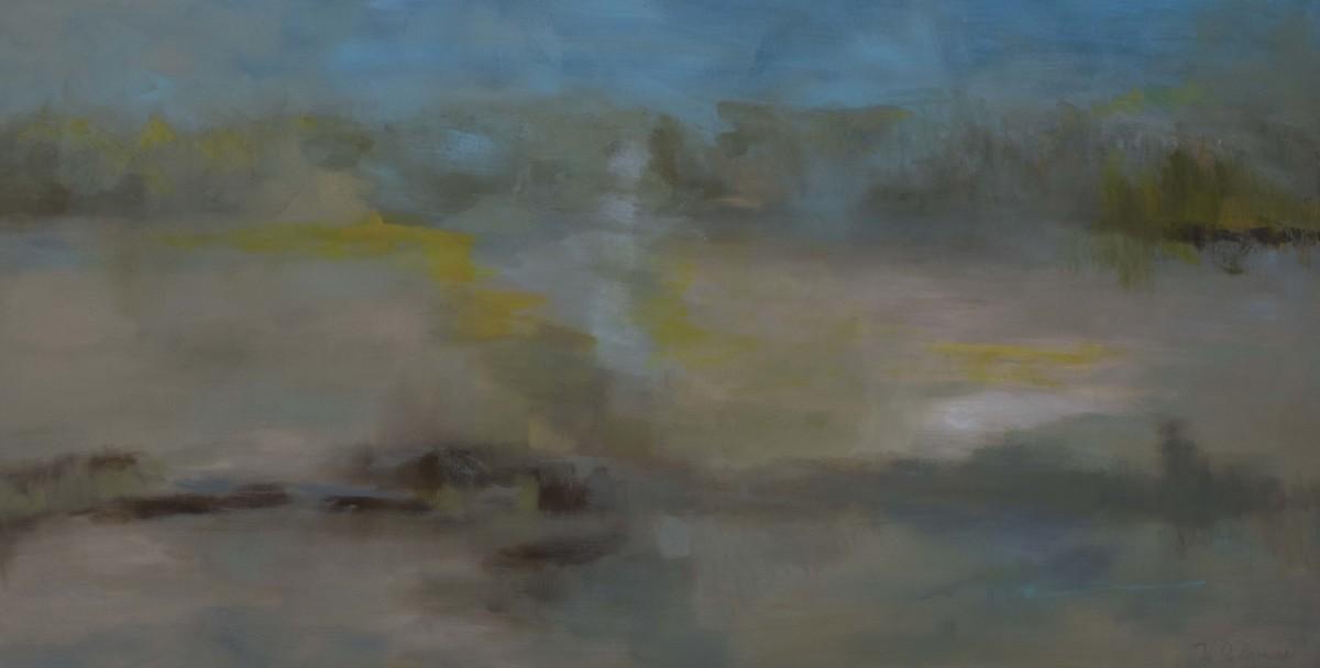 Canyon Road (Marsh) by Helen DeRamus