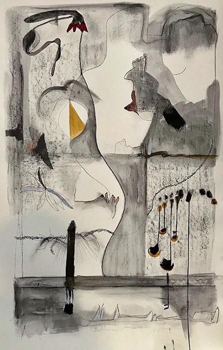 """The Night Air Was Loud"" by Helen DeRamus"