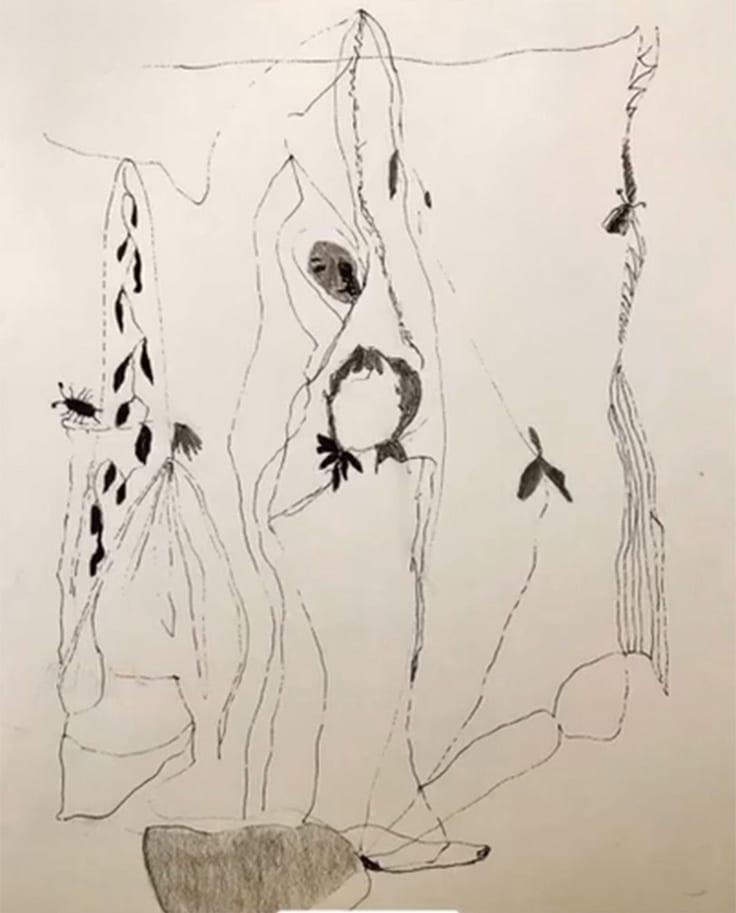 Figure IV by Helen DeRamus