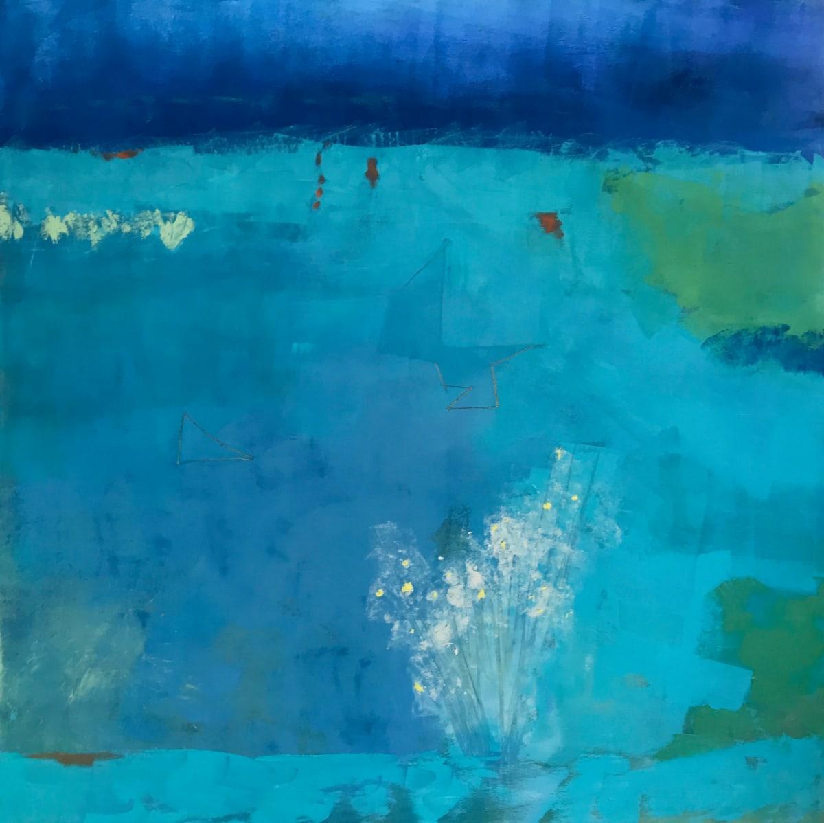 """""""Moving Through Blue"""" by Helen DeRamus"""