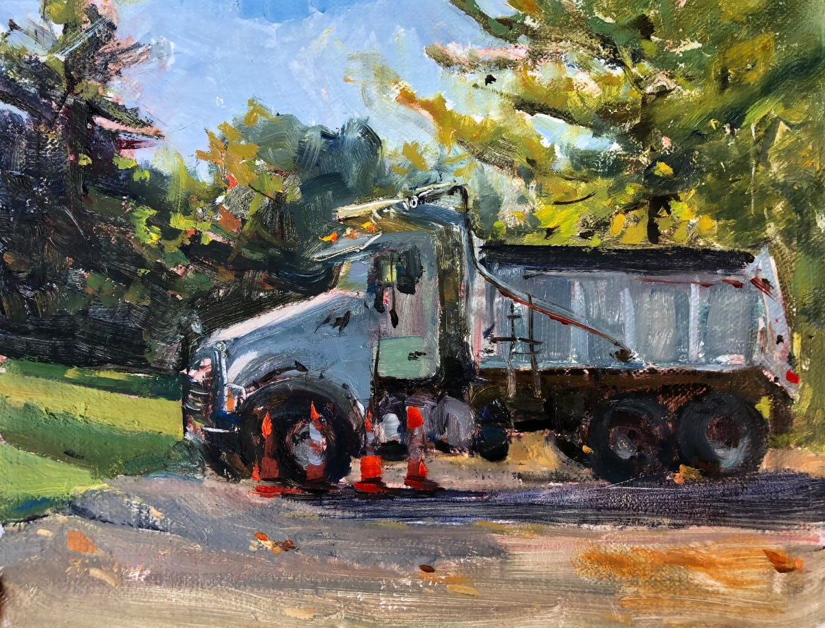 Dump Truck by Laurie Maher