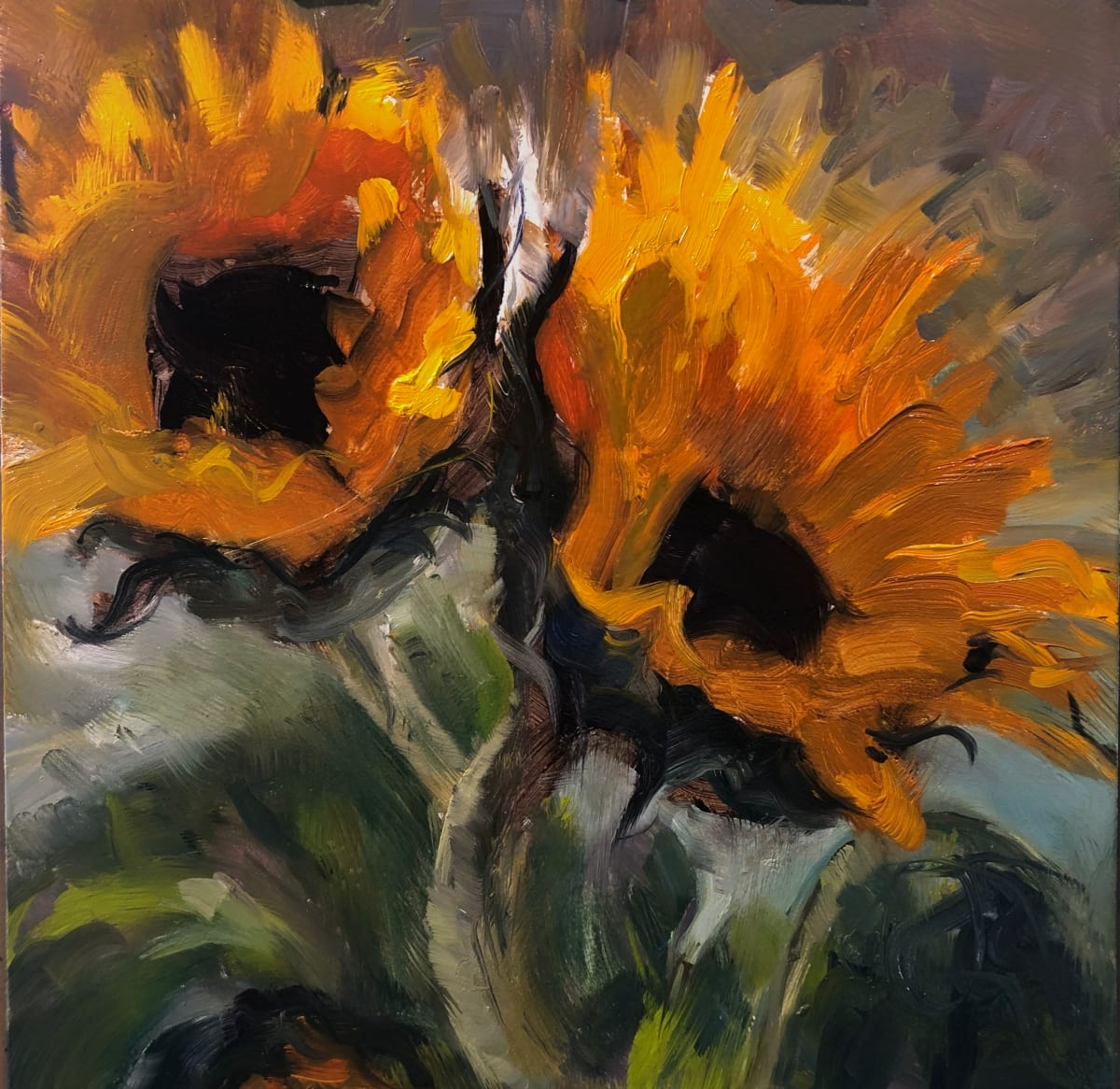 Sunflowers by Laurie Maher