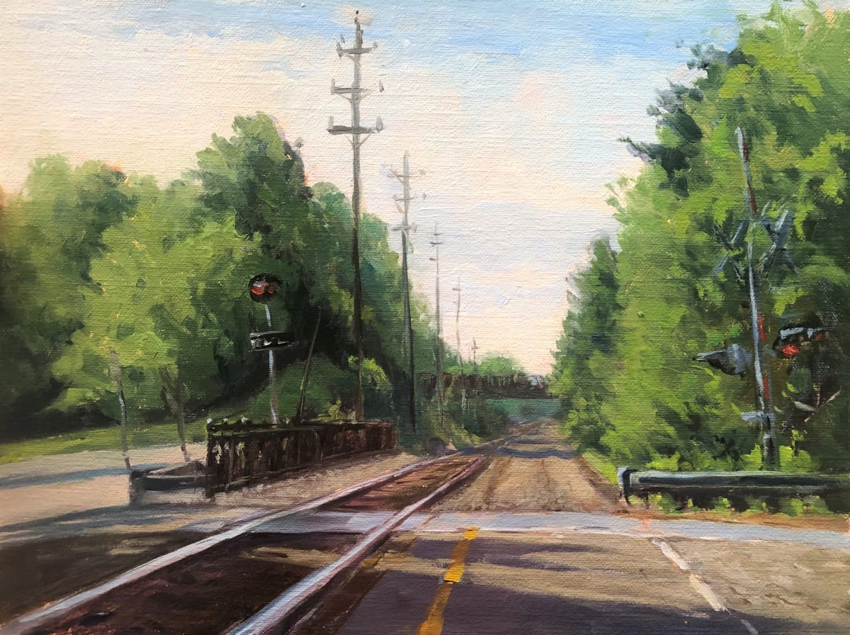 North Branch Railroad Tracks by Laurie Maher