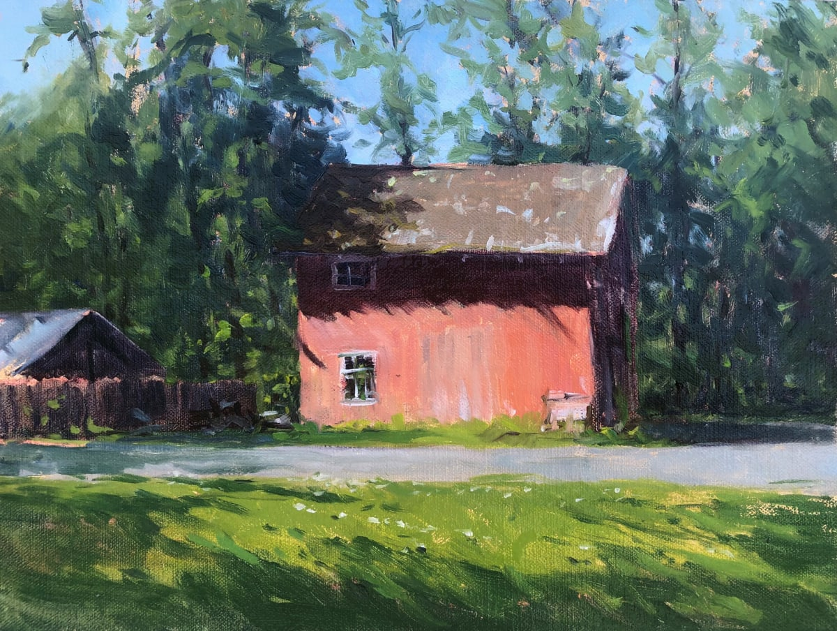 Barn in North Branch by Laurie Maher