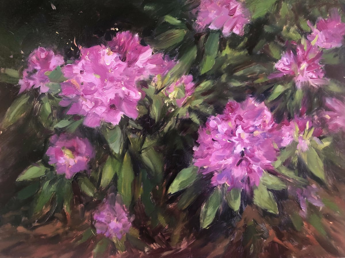 Rhododendrons 2 by Laurie Maher