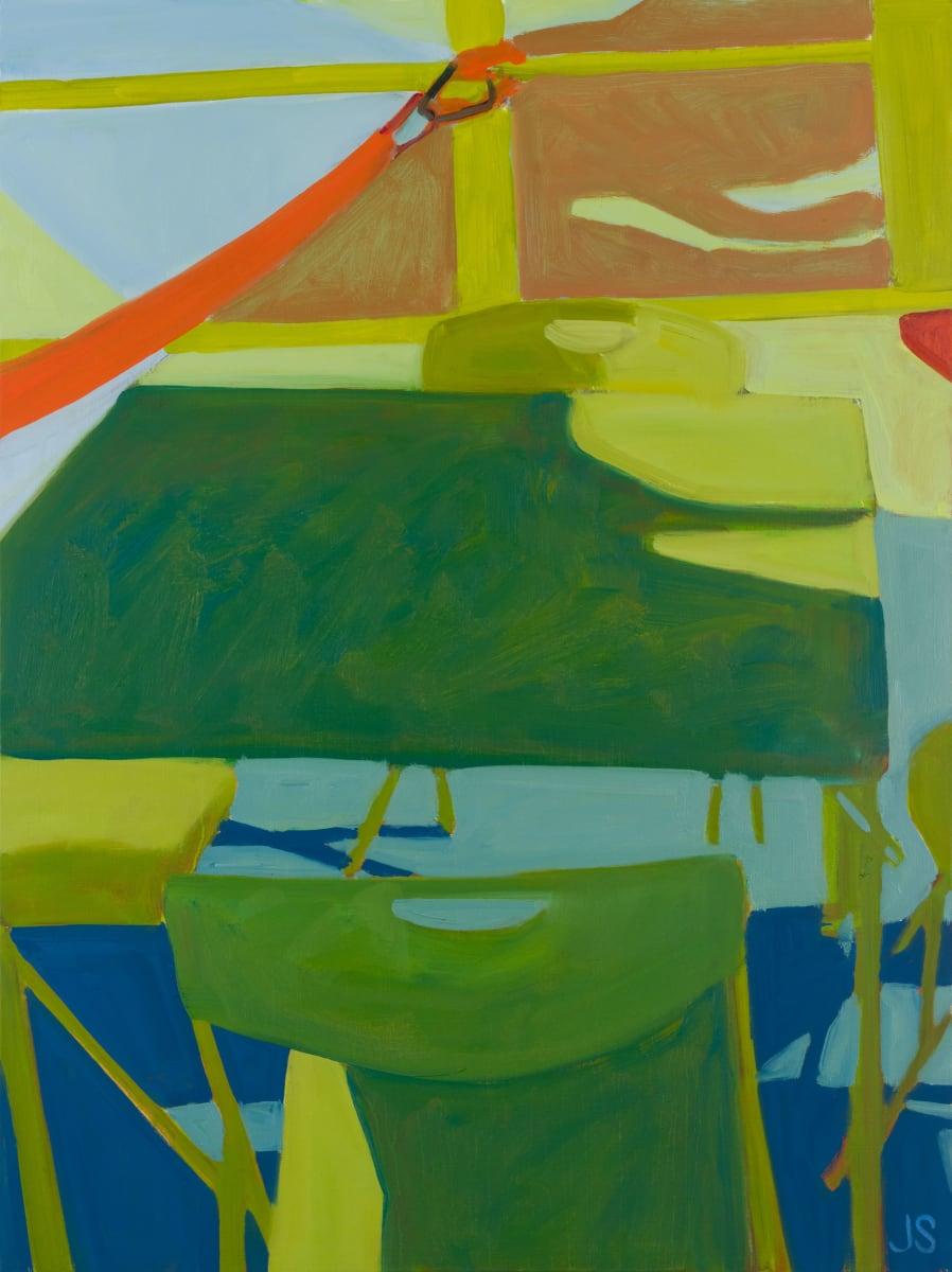 A Falling Dogwood Petal 1 by Jessica Singerman