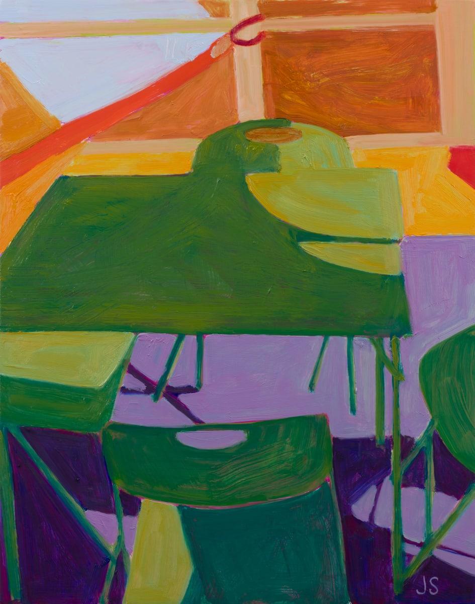 A Falling Dogwood Petal 2 by Jessica Singerman