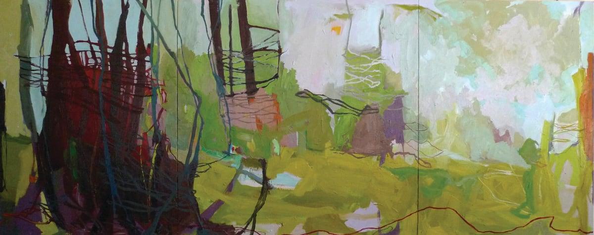 Greenway Triptych by Jessica Singerman