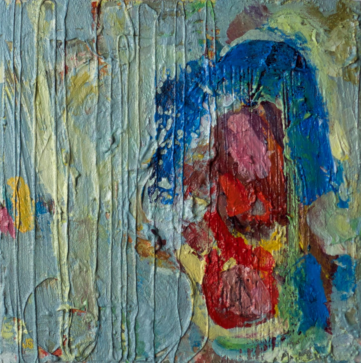 Untitled Blue by Jessica Singerman