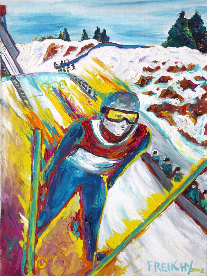 USA Olympic Ski Jumping