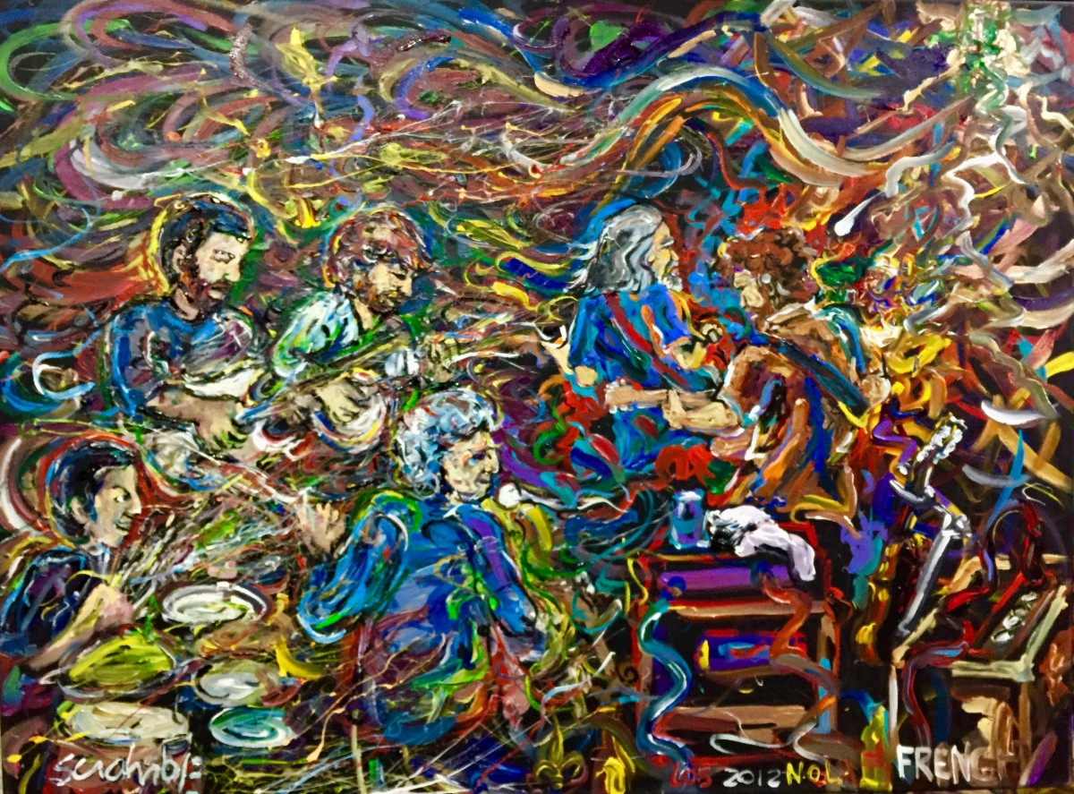 Leftover Salmon w/ Peter Rowan by Frenchy