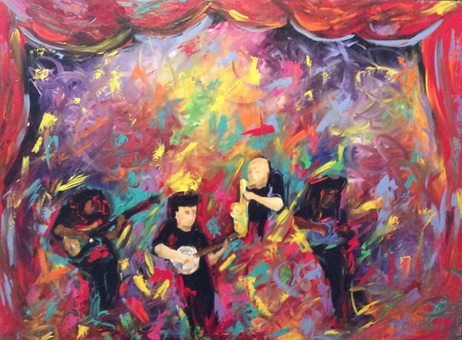 Bela Fleck & the Flecktones by Frenchy